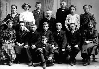 Avgangklasse Byåsen skole (1911)