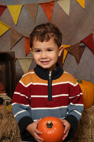 luke's 3 yr old fall preschool photo