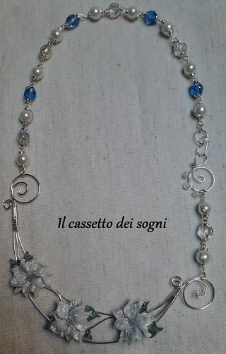 collana stelle di natale by Il cassetto dei sogni