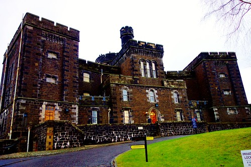 Stirling Old Town Jail, Scotland