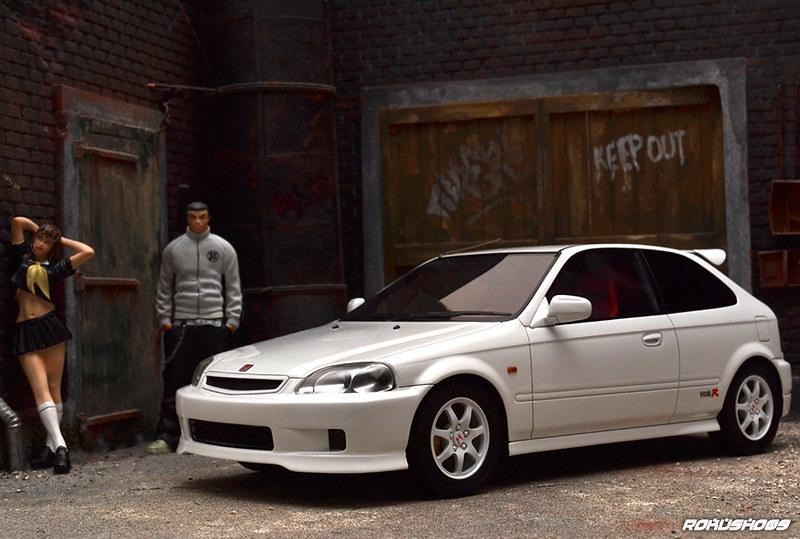Honda Civic Type R (EK9) '97 - Frontiart - DX Sedan ...