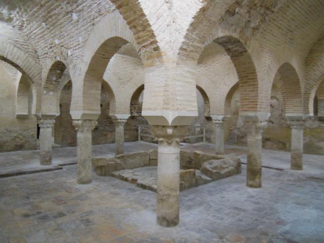 Baño Arabe En Toledo:SEÑOR DEL BIOMBO: LOS BAÑOS ÁRABES DE JAEN