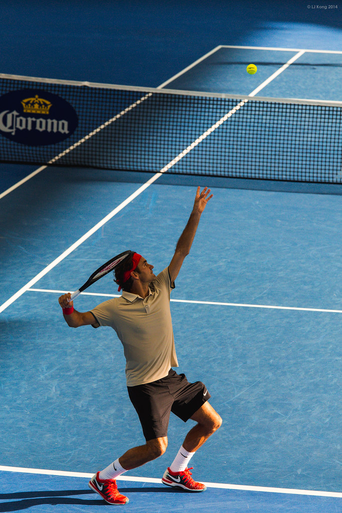Roger Federer Brisbane International 2014