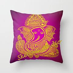 furniture(0.0), pink(0.0), pattern(1.0), textile(1.0), magenta(1.0), purple(1.0), font(1.0), pillow(1.0), throw pillow(1.0), design(1.0), illustration(1.0), cushion(1.0),