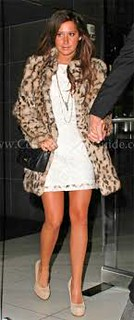 Ashley Tisdale Leopard Print Coat Celebrity Style Women's Fashion