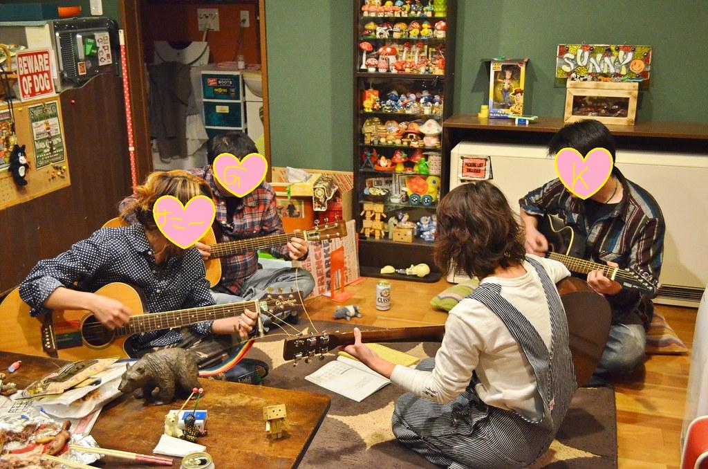 Gさん誕生日サニー家ギター教室。 (8)-1