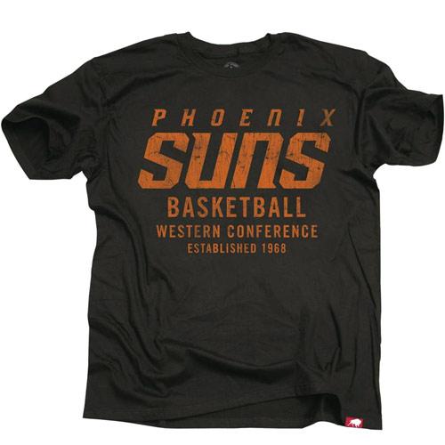 Phoenix Suns Sportiqe Cornbread Rucker Tee - Black