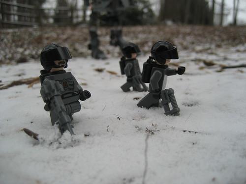 Snow tresspassing