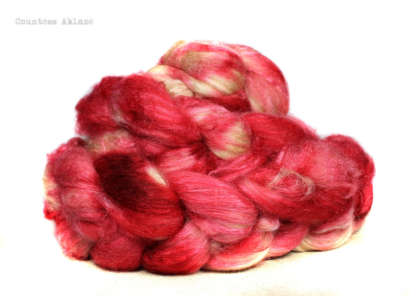 Baby camel and silk luxury spinning fibre