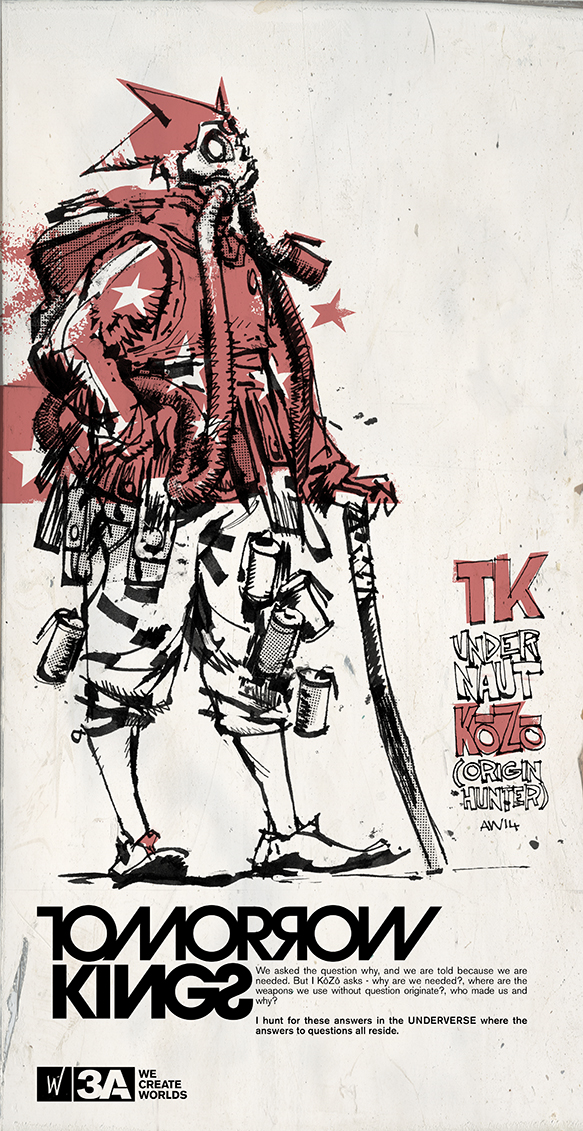 WF開催限定 KOZO TK UNDERNAUT (ORIGIN HUNTER)