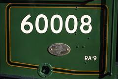 Locomotive number styles