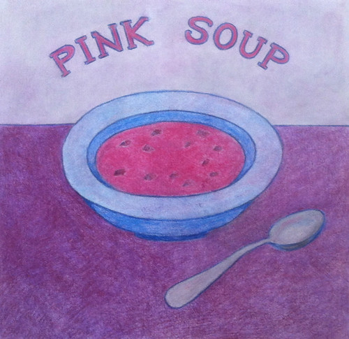 Pink Soup (Illustration as of Feb. 14, 2014) by randubnick