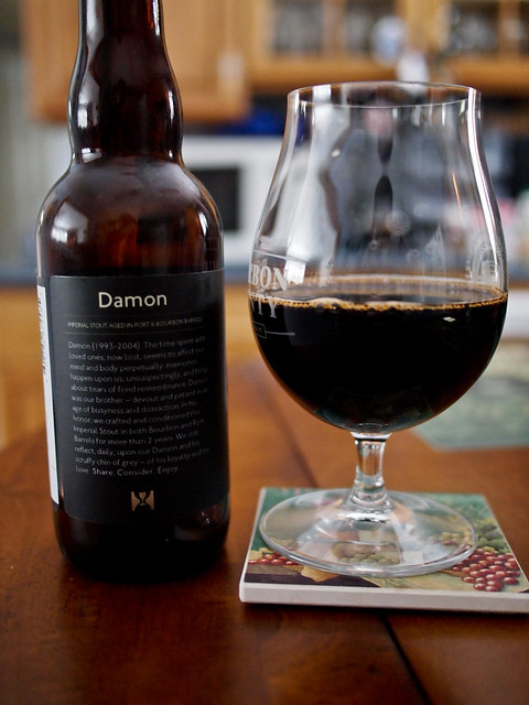 Hill Farmstead Damon (Port and Bourbon Barrel Aged)