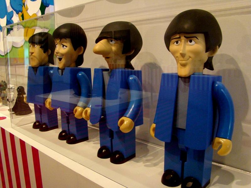 Beatles Kubrick set