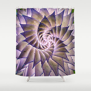 Round n Round Shower Curtain