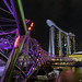 Helix Bridge & Marina Bay Sands Hotel by Marco_Parc