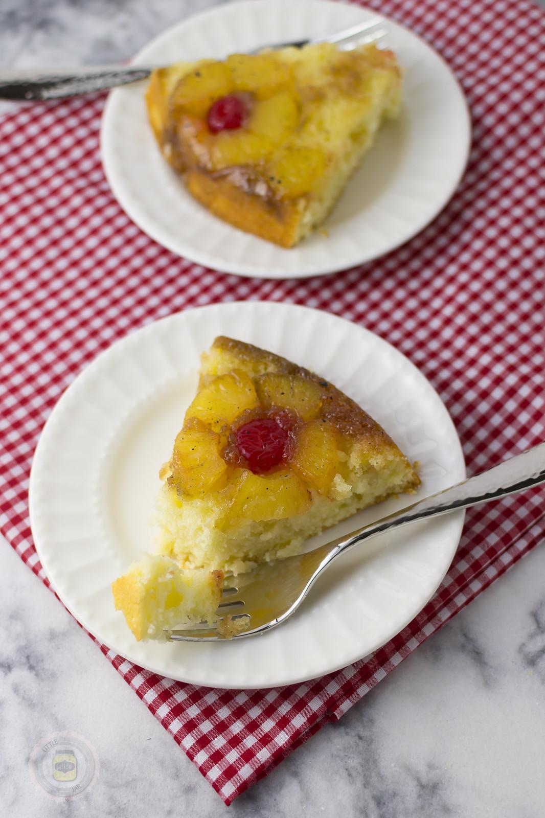 Pineapple Upside Down Cake Sliced 2