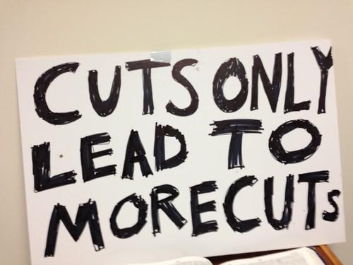 USM Student Protest Sign