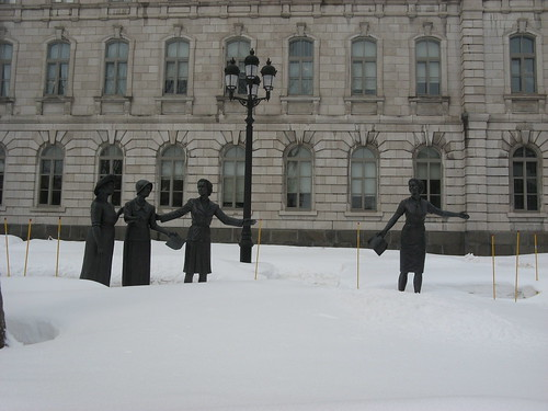 Monument to Giving Women a Voice