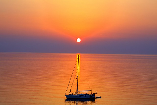 Sunset_Ai Stratis island,Greece
