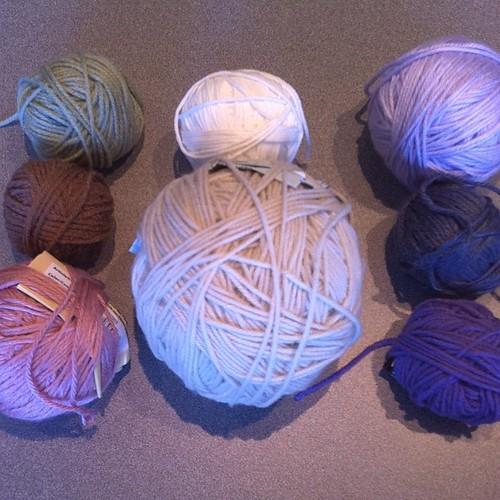 Proto-bunnies. #crochet #bunny #easter
