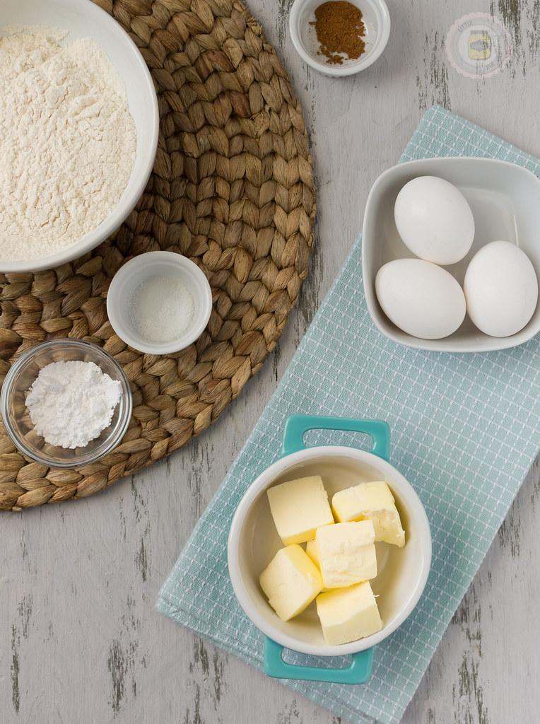 French Honey Crullers Butter Flour Sugar Salt Pumpkin Spice
