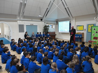 140404 - Blessing of the new Chapel at St Jospeh's Primary School - Surbiton