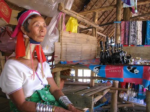 Anciana padaung