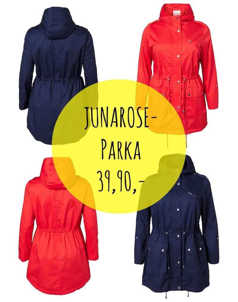 Tämän takin lisäksi JUNAROSE lta on Hullut Päivät tarjouksena myös  farkkulegginssiä ja neuletta. Niin ja kannattaahan tuo alati laajeneva  JUNAROSE n ... a2a82bbf7d