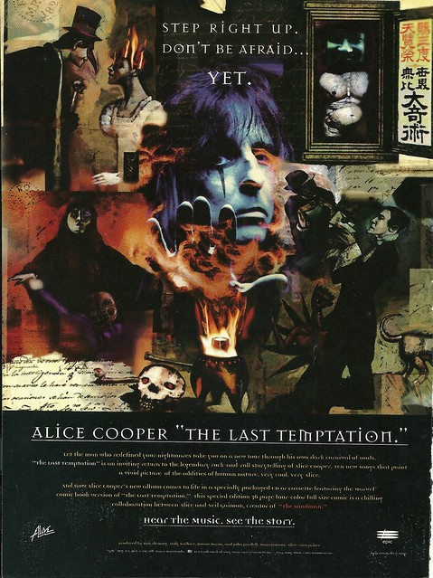"Alice Cooper ""The Last Temptation"" (Released: 07/12/94)"