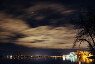 Lunar Eclipse over Madison, Wisconsin
