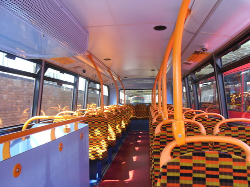 Interior of Stagecoach Selkent 10136