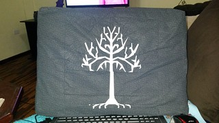 White tree of gondor paper piecing