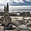 Another beautiful day on the planet! #luckygirl #pebblebeach #california #rockcairn #beach #pacific #ocean