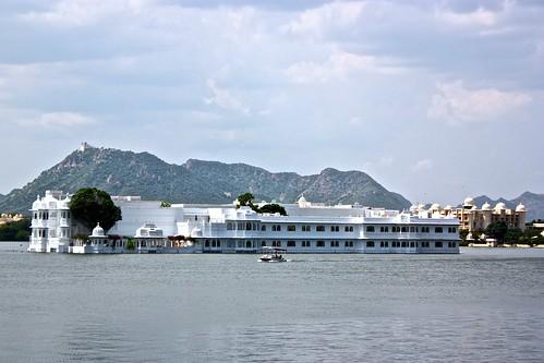 Udaipur floating palace