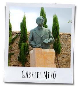De modernistische schrijver Gabriel Miró