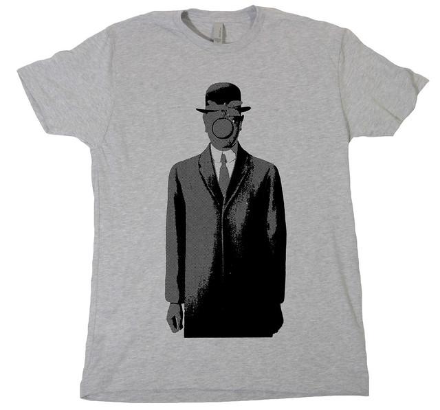 magritte - shirt