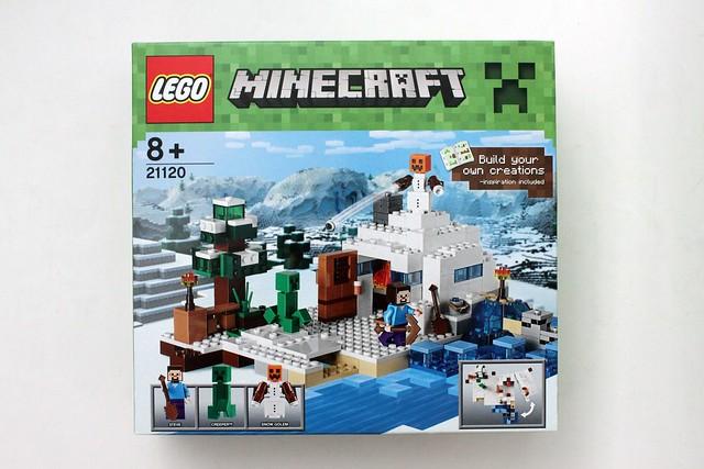 Review - 21120 LEGO Minecraft The Snow Hideout από BRICKFAN 19135477874_7ecefc38bf_z
