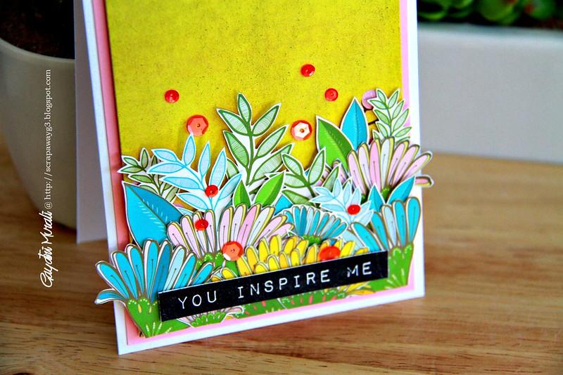 You inspire me closeup!