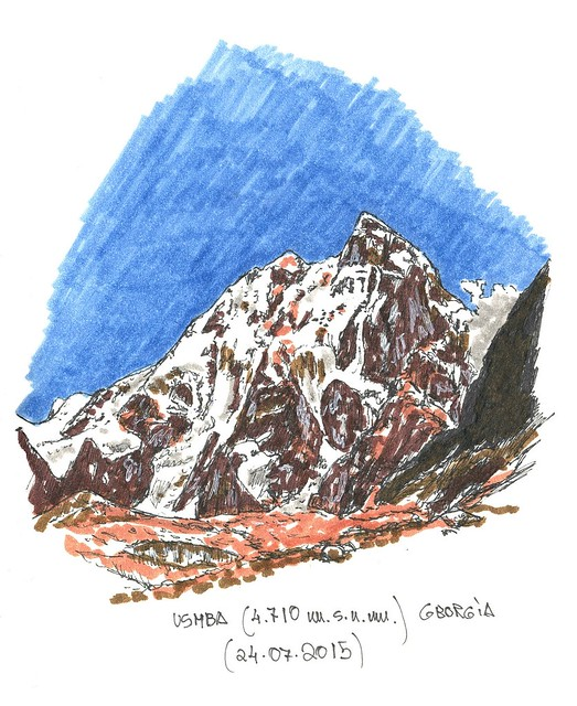 Ushba (4.710 m.s.n.m.)