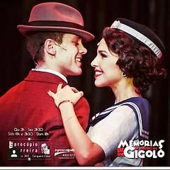 Memórias de um Gigolô é o musical em cartaz no Teatro Procópio Ferreira, em São Paulo, com Leo Miggiorin e Mariana Rios. #BlogAuroradeCinemaindica  #VamosaoTeatro #vivaoteatro  #Teatrofazbem #Musical #leonardomiggiorin#palco #marianarios @leo_miggiorin