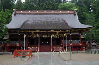 鹽竈神社(Shiogama Jinja)左右宮拝殿/宮城県塩竃市 2015年7月