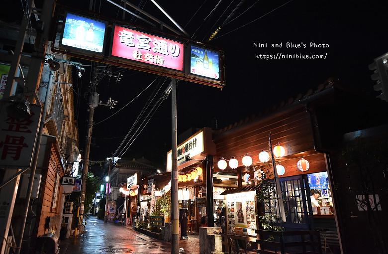 日本沖繩必吃美食國際通屋台村街02