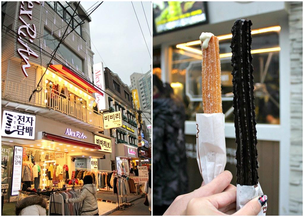 hongdae-churros-shopping