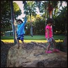 Two explorers, little buddies at the Palmetum. @documentingchaos #kidlet