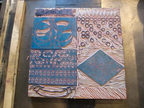 Letterpress Postcards in Progress
