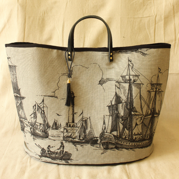 Tasselled Beach Tote