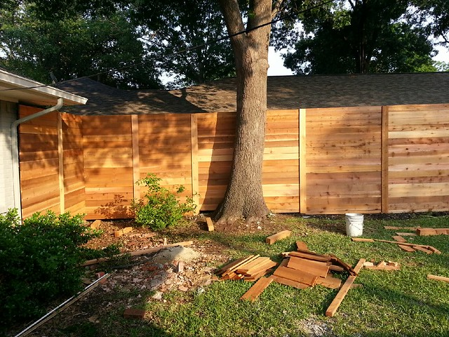horizontal wood fence diy horizontal cedar fence it 39 s