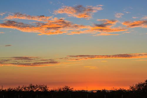 sunset naturaleza color nature night clouds mexico cloudy yucatan merida nubes puestadelsol