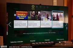 Sociaal is de SmartTV ook